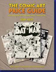 The Comic Art Price Guide by Jerry Weist