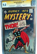 Journey Into Mystery #89 (Marvel, 1963) CGC VF/NM 9.0 Off-white pages.